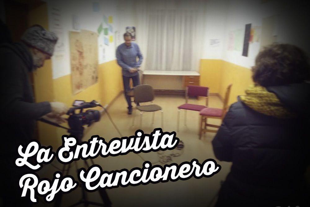 Entrevista a Rojo Cancionero