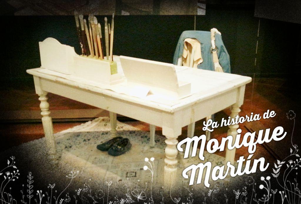 La historia de la ilustradora Monique Martín